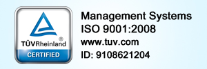 TUV ISO Certified